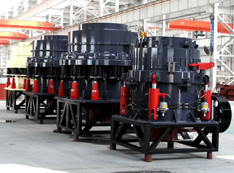 Parts And Its Working Of Cone Crusher Algeria