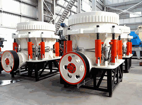 Used Cone Crusher Plants