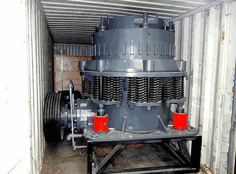 Manual Simons Cone Crusher Pys B