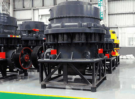 Minerals Cone Crusher With Lubrication Hydraulic