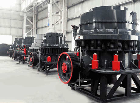 Working Principle Of Cone Crusher039s Lubrication