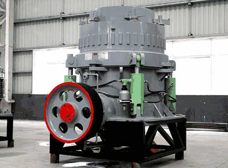 And Its Working Of Cone Crushers India