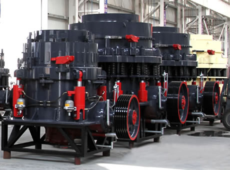 Parts And Its Working Of Cone Crushers
