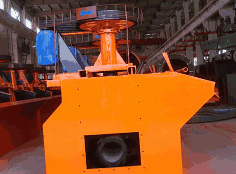 Froth Flotation In Mineral Processing Plant Sf015