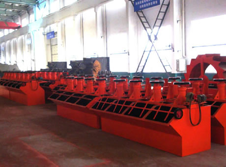 China Copper Ore Processing Plantflotation Machine