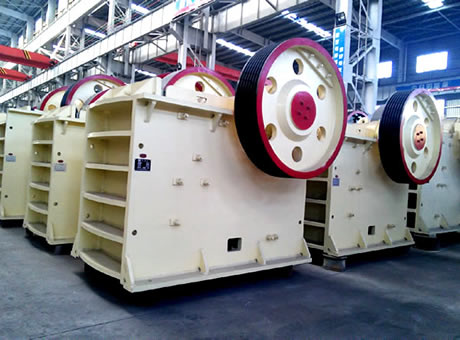 500 T H Jaw Crusher Machine Parts