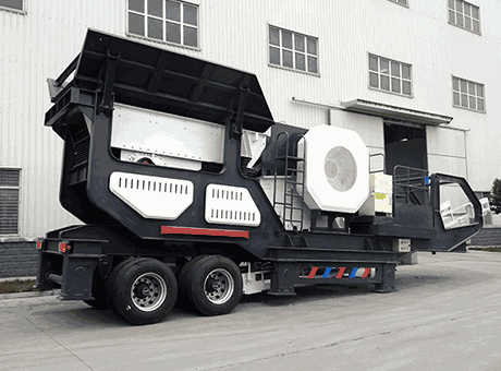 Hot Sale Mobile Impact Crushermobile Crushing Plant In China