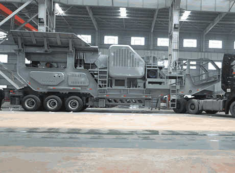 Algeria Small Crawler Mobile Impact Crushing Plant