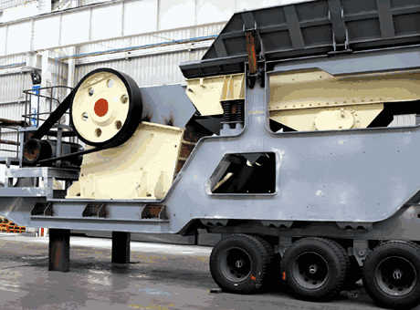 Cst Cone Crusher With Prescreen  A Portable Rock