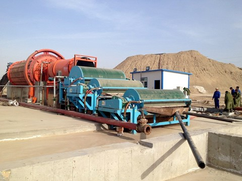 Limonite Iron Processing