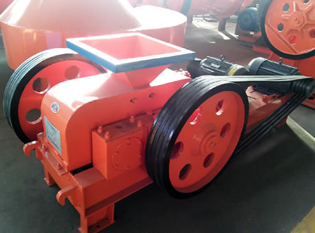 Working Principle Of Smooth Roll Crusher Compression