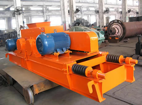 Smooth Roll Crusher Working Principle
